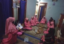 Fatayat NU Sumber Ketempa belajar pentingnya menjadi agen perdamaian di desanya