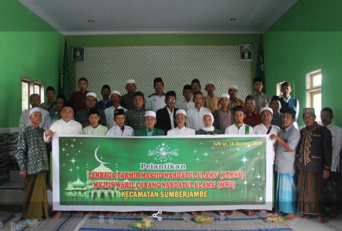 Tingkatkan Fungsional Masjid, LTM NU Sumberjambe Dibentuk