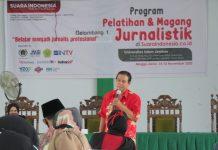 Bidik Calon Penulis Handal dengan Pelatihan Jurnalistik
