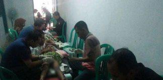Iwan/PAC GP Ansor Kaliwates : Anak-anak saat mengikuti khitan masal PAC GP Ansor Kaliwates, Minggu (15/11/2020).