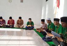 Nurul Hidayah/MWC NU Semboro: Kegiatan khotmil quran yang digelar PAC IPNU-IPPNU Semboro di kantor MWC NU Semboro.