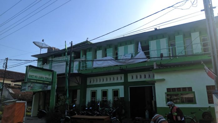Keterangan foto: Kantor MWC NU Tanggul Jl. Kamboja No. 02 Tanggul-Jember. (Mughni Fawarid / MWC NU Tanggul )